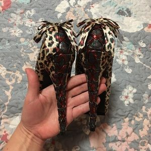 8e3618fad3 Iron Fist Shoes - NEW RuPaul  Iron Fist Leopard Heels